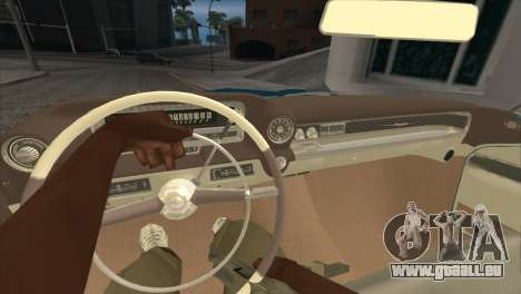 Cadillac Eldorado Biarritz 1959 für GTA San Andreas zurück linke Ansicht