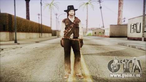 John Marston from Red Dead Redemtion für GTA San Andreas zweiten Screenshot