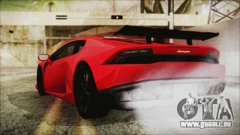 Lamborghini Huracan LP610-4 Novitec Torado 2015 für GTA San Andreas linke Ansicht