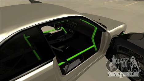Nissan Silvia S14 Drift Monster Energy für GTA San Andreas Rückansicht