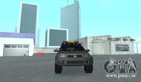 Toyota Terios 2009 OFF-ROAD MUD-TERRAIN pour GTA San Andreas vue intérieure