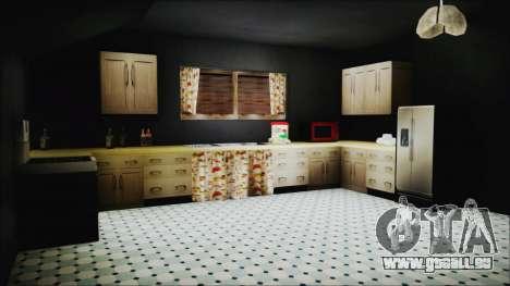 CJ House New Interior pour GTA San Andreas septième écran