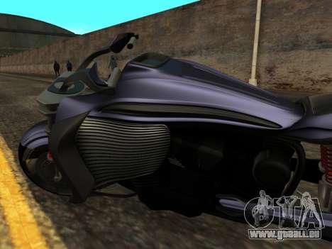 Krol Taurus concept HD ADOM v2.0 pour GTA San Andreas vue intérieure