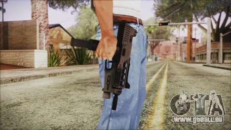 MP-970 pour GTA San Andreas troisième écran