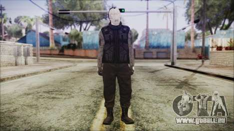 GTA Online Skin 3 pour GTA San Andreas deuxième écran