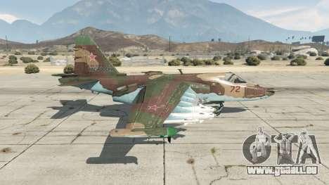 GTA 5 Su-25 v1.1 zweite Screenshot