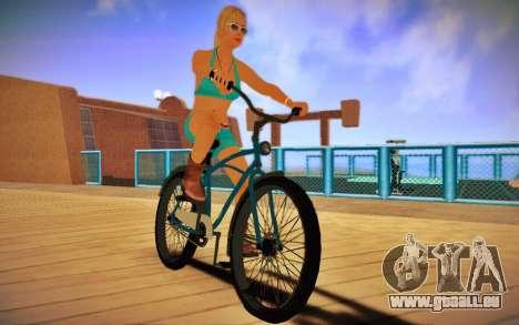 GTA V Cruiser Bike für GTA San Andreas zurück linke Ansicht