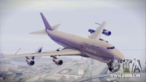 Boeing 747-48E Asiana Airlines pour GTA San Andreas