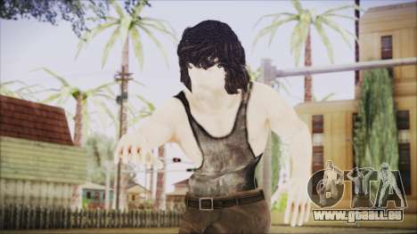 Rambo Shirt pour GTA San Andreas