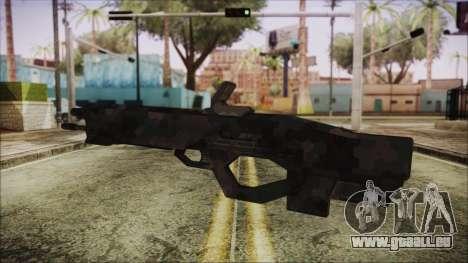 Cyberpunk 2077 Rifle Camo für GTA San Andreas zweiten Screenshot