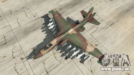 GTA 5 Su-25 v1.1 vierten Screenshot