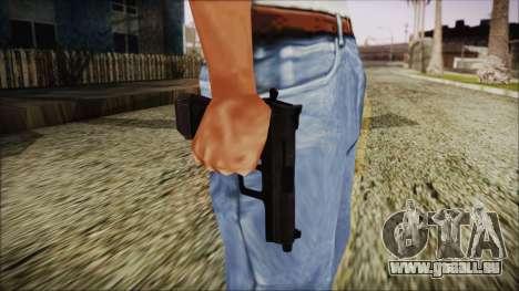 PayDay 2 Interceptor .45 pour GTA San Andreas troisième écran