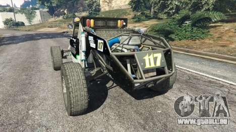 GTA 5 Ickler Jimco Buggy [Beta] arrière vue latérale gauche