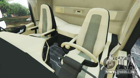 GTA 5 Volvo FH 750 2014 droite vue latérale