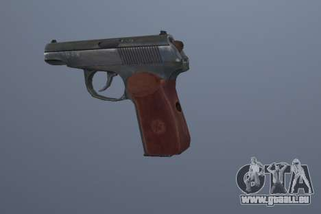 Le Pistolet Makarov pour GTA San Andreas troisième écran