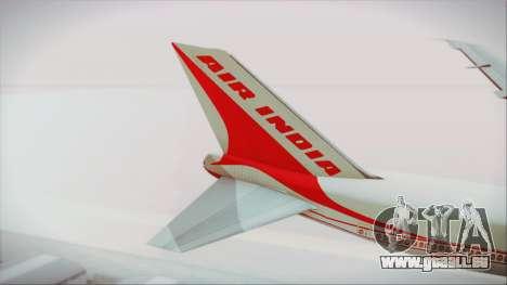 Boeing 747-237Bs Air India Chandragupta pour GTA San Andreas sur la vue arrière gauche