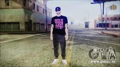 GTA Online Skin 48 pour GTA San Andreas deuxième écran