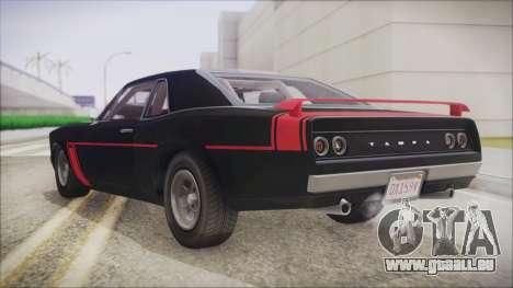 GTA 5 Declasse Tampa IVF pour GTA San Andreas laissé vue