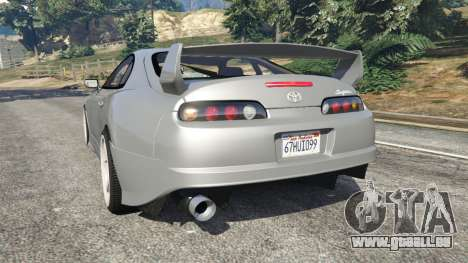 Toyota Supra JZA80 v1.1 pour GTA 5