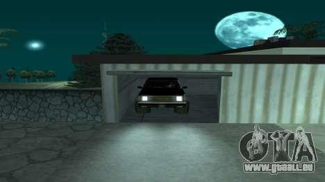 FBIranch By MarKruT pour GTA San Andreas vue arrière