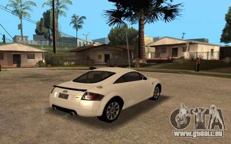 Audi TT 2004 Tunable für GTA San Andreas linke Ansicht