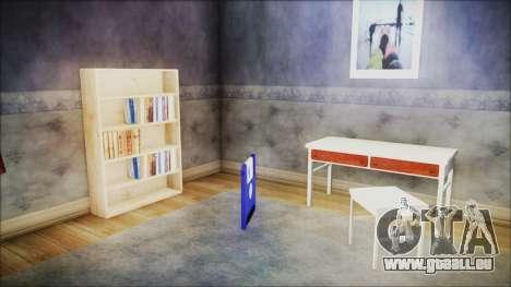 CJ House New Interior pour GTA San Andreas troisième écran
