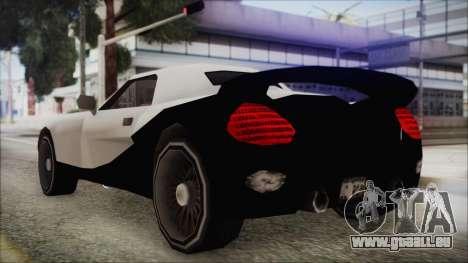 BETA Yakuza Shark für GTA San Andreas zurück linke Ansicht