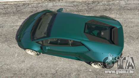 GTA 5 Lamborghini Huracan [LibertyWalk] v1.1 Rückansicht