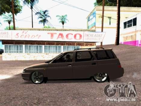 VAZ 2111 Tuning pour GTA San Andreas sur la vue arrière gauche