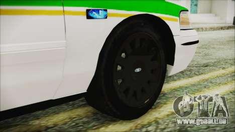 Ford Crown Victoria Miami Dade v2.0 für GTA San Andreas zurück linke Ansicht
