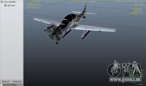 Embraer A-29B Super Tucano House pour GTA 5