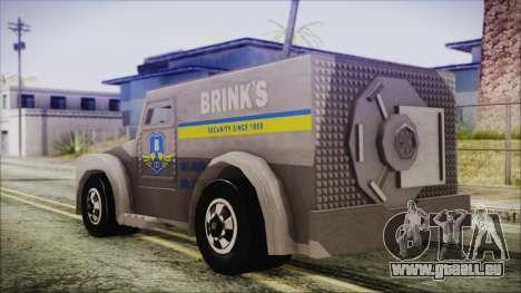 Hot Wheels Funny Money Truck für GTA San Andreas linke Ansicht