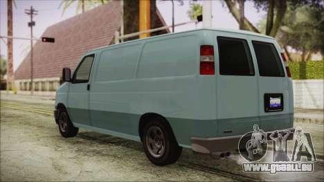GTA 5 Bravado Rumpo pour GTA San Andreas laissé vue