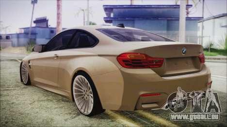 BMW M4 Coupe für GTA San Andreas linke Ansicht