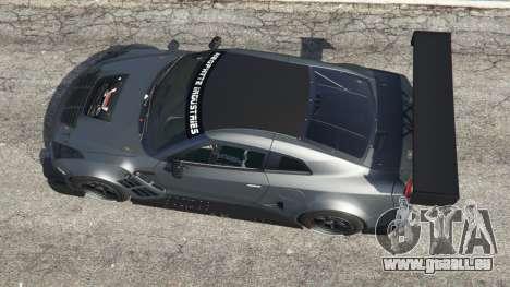 GTA 5 Nissan GT-R Nismo GT3 Rückansicht