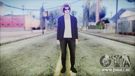 GTA Online Skin 29 pour GTA San Andreas deuxième écran