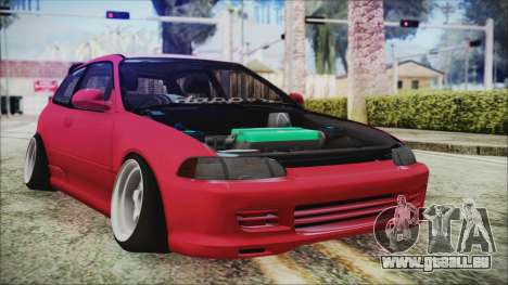 Honda Civic EG6 Hellaflush für GTA San Andreas