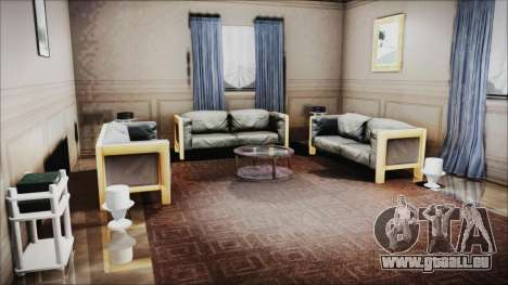 CJ House New Interior pour GTA San Andreas deuxième écran