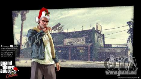 Noël des écrans de chargement pour GTA 5