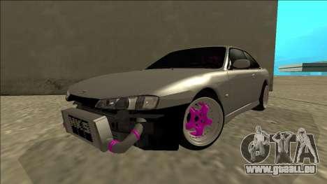Nissan Silvia S14 Drift pour GTA San Andreas vue arrière