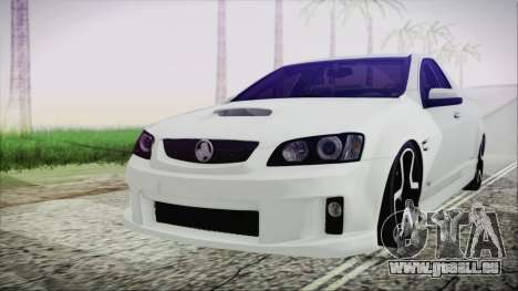 Holden Commodore SS Ute 2012 für GTA San Andreas