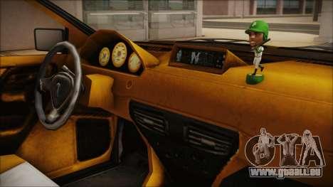 GTA 5 Albany Primo Custom Bobble Version pour GTA San Andreas vue de droite