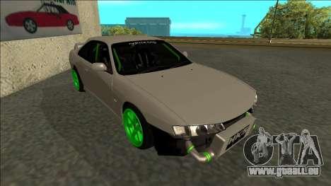 Nissan Silvia S14 Drift Monster Energy für GTA San Andreas linke Ansicht