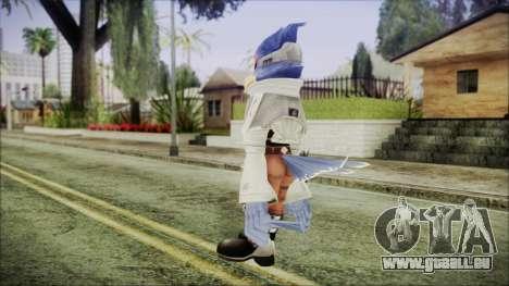 Falco Lombardi pour GTA San Andreas troisième écran