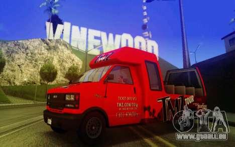 TMZ Tourbus für GTA San Andreas
