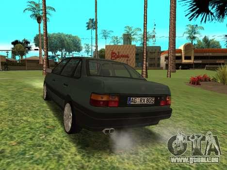 Volkswagen Passat B3 für GTA San Andreas zurück linke Ansicht