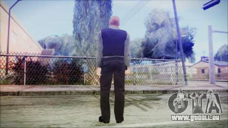 GTA 5 Ammu-Nation Seller 3 pour GTA San Andreas troisième écran