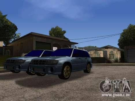 Subaru Forester 1998 pour GTA San Andreas