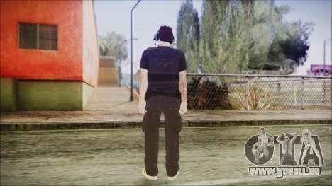 GTA Online Skin 19 pour GTA San Andreas troisième écran