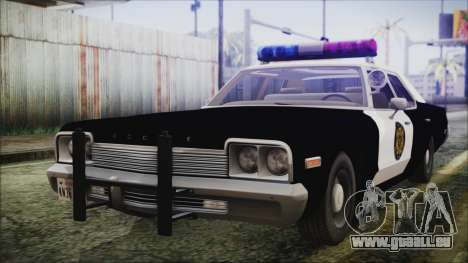 Dodge Monaco 1974 LVPD pour GTA San Andreas